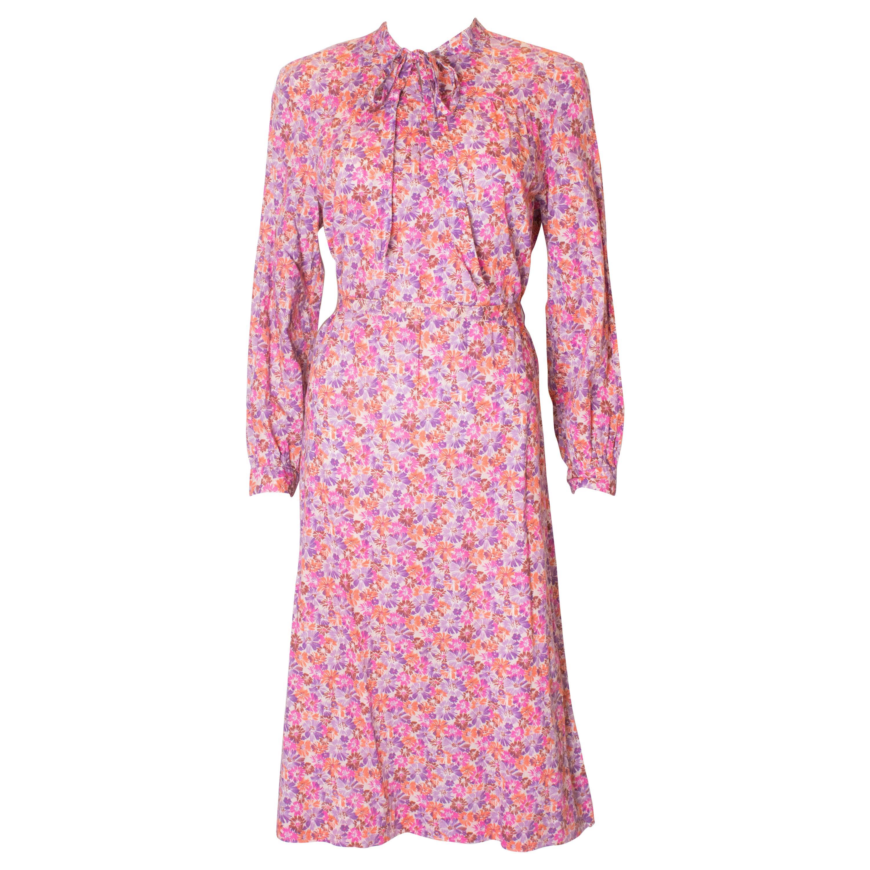 Vintage Horrocks Print Dress