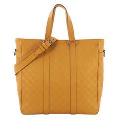 Louis Vuitton Tadao Handbag Damier Infini Leather MM