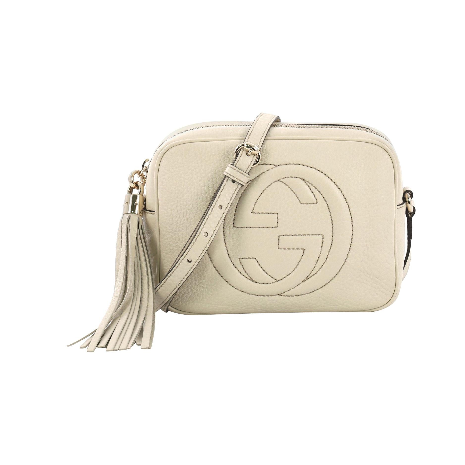 4a31116368 Gucci Soho Disco Crossbody Bag Leather Small at 1stdibs