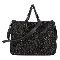 Chanel CC Charm Tote Tweed Large