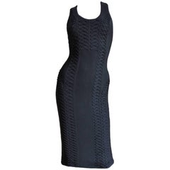 Christian Dior Bodycon Laceup Dress