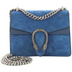 Gucci Dionysus Handbag Suede Mini