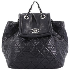 Chanel Beijing 2 in 1 Backpack Quilted Lambskin