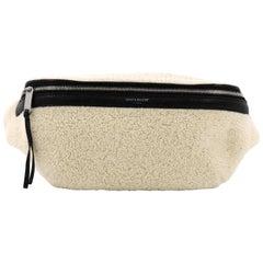 Saint Laurent Belt Bag Shearling