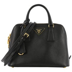 Prada Promenade Handbag Saffiano Leather Small