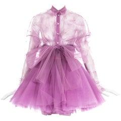 55bdf306 Dolce Gabbana Stretch Silk Dragon and Fan Print Dress For Sale at ...