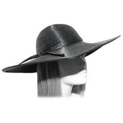 Kurt Jr. by Tom Hann Black Straw Hat
