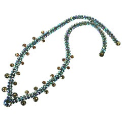 Unusual Vendome Aurora Crystal Necklace