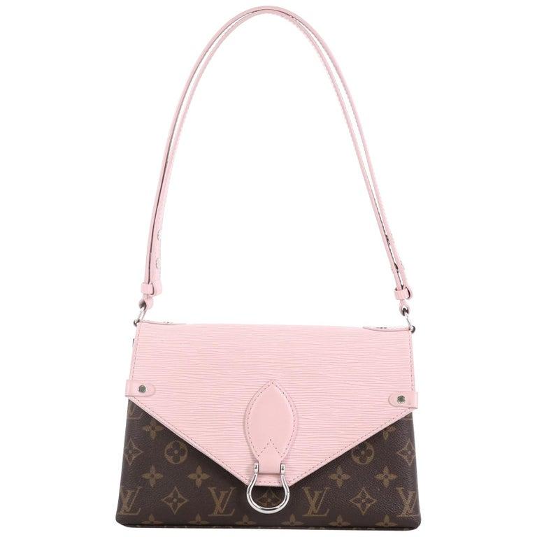 3c9876147e83 Louis Vuitton Saint Michel Handbag Monogram Canvas and Epi Leather For Sale