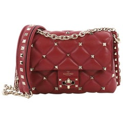 Valentino Candystud Crossbody Bag Leather Large