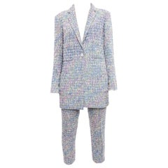 Chanel Spring 2014 Runway Multicolor Pants Suit - 38