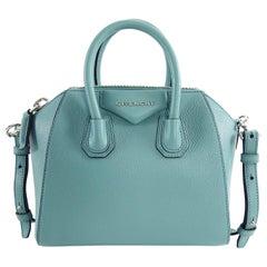 Givenchy Aqua Blue Antigona Mini Crossbody Bag