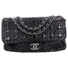 Chanel Rock In Moscow Flap Bag Patent Vinyl Jumbo