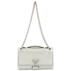 Louis Vuitton Very Chain Bag Whipstitch Leather