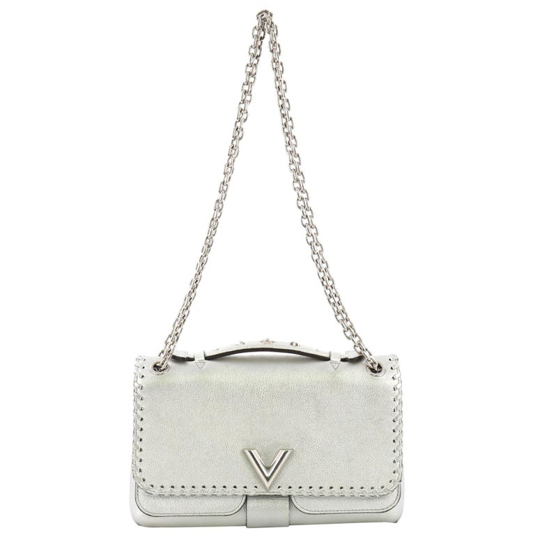 e3d76f08d8cf Louis Vuitton Very Chain Bag Whipstitch Leather For Sale at 1stdibs