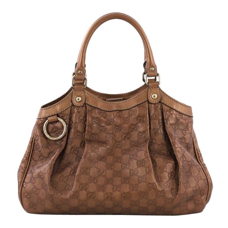 d11cbcc664cf Gucci Sukey Tote Guccissima Leather Medium For Sale at 1stdibs