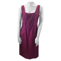 Rene Lezard Pink Silk Dress NWT