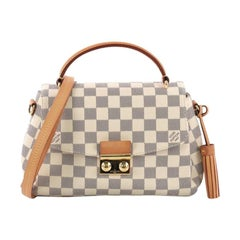Louis Vuitton Croisette Handbag Damier