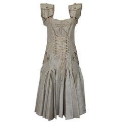 Christian Dior Boutique Ivory Dress S