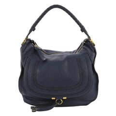 Chloe Marcie Hobo Leather Large
