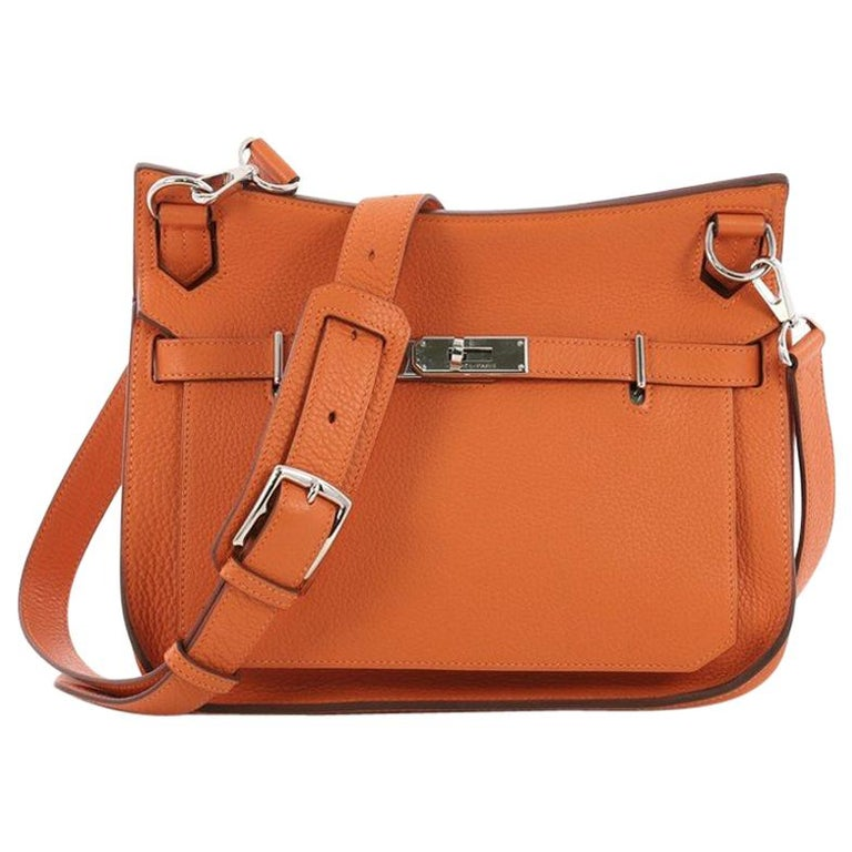 1e62f985b142 Hermes Jypsiere Handbag Clemence 28 For Sale at 1stdibs