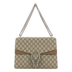 Gucci Dionysus Handbag GG Coated Canvas Medium