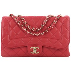 Chanel Mademoiselle Chic Flap Bag Quilted Lambskin Medium