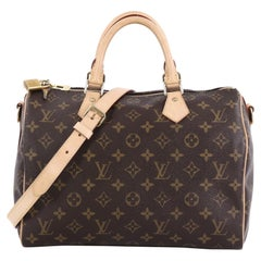 Louis Vuitton Speedy Bandouliere Bag Monogram Canvas 30