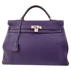 Hermès Kelly 40 UltraViolet