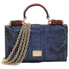 728903e26cc0 DOLCE and GABBANA Black Snake Skin Leather Card Holder Wallet at 1stdibs