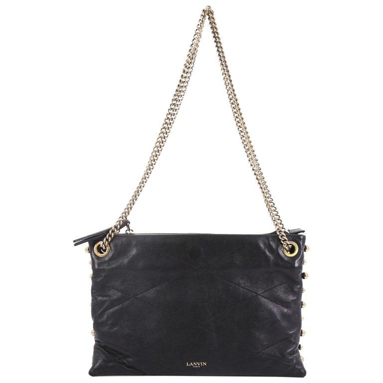 ed802e77ccc Lanvin Sugar Shoulder Bag Quilted Leather Small For Sale at 1stdibs