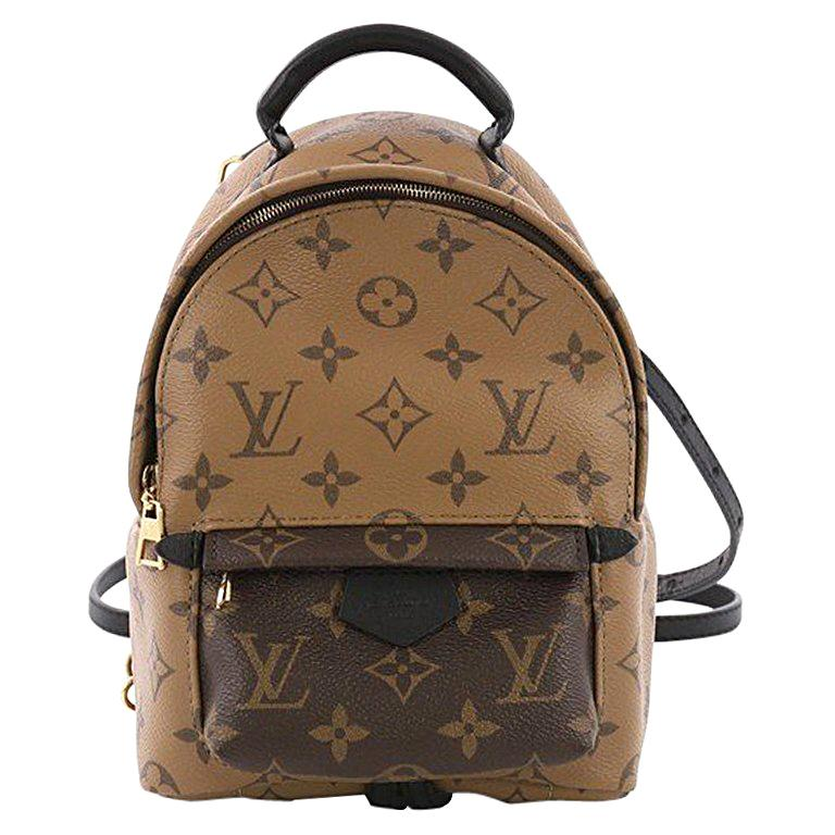 f1207b5428b7 Louis Vuitton Palm Springs Backpack Reverse Monogram Canvas Mini For Sale