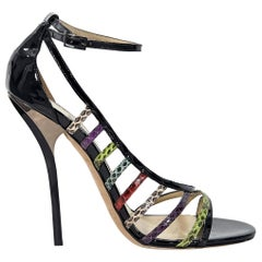 Multicolor Jimmy Choo Strappy Sandals