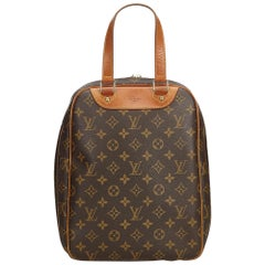 Louis Vuitton Brown Monogram Canvas Canvas Monogram Excursion France