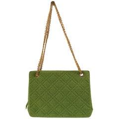 Chanel Vintage Green Bag