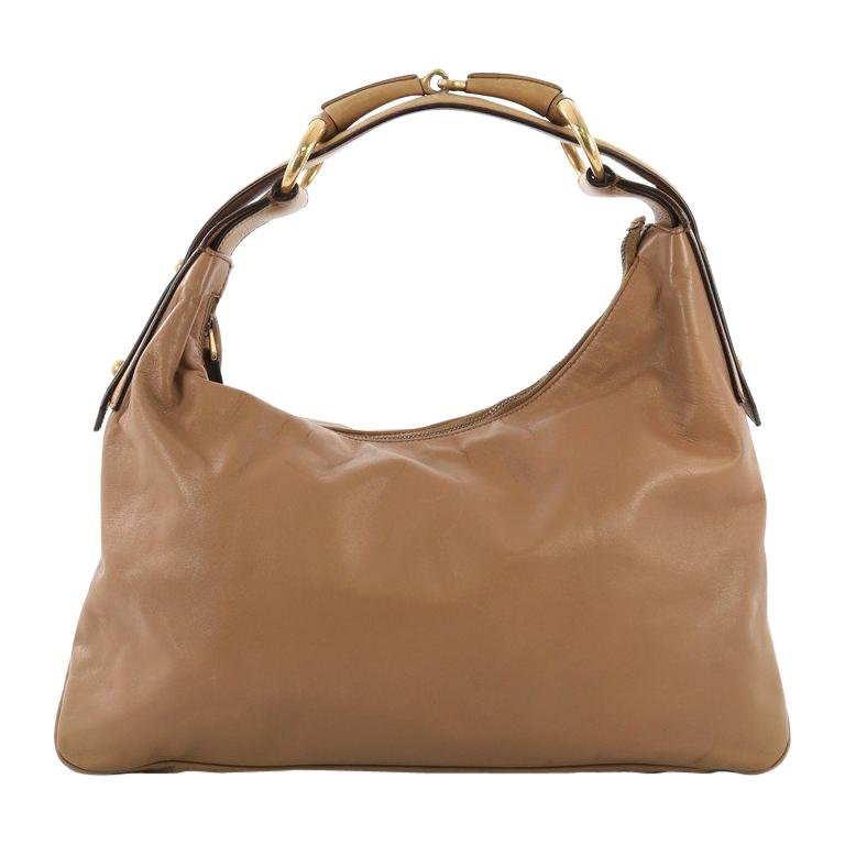 08151a14560919 Gucci Horsebit Hobo Leather Medium For Sale at 1stdibs