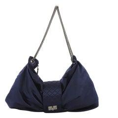 Chanel Bow Bag Satin Large