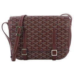 Goyard Belvedere Messenger Bag Coated Canvas MM,