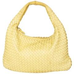 HERMES light yellow leather VENETA SMALL Hobo Shoulder Bag