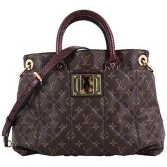 Louis Vuitton Limited Edition Exotique Handbag Monogram Etoile MM