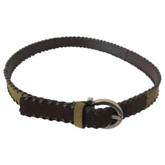 Ferragamo Suede Boho Chic Belt Size Medium.