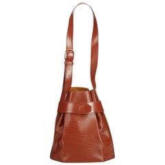 Louis Vuitton Brown Epi Leather Leather Epi Sac dEpaule France