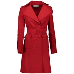 Stella McCartney Red Trench Coat - Size 38