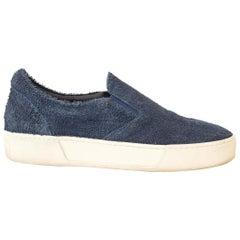 Balenciaga Blue Slip On Sneakers - size 40
