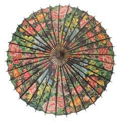 Vintage Floral Parasol