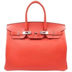 Hermès Birkin Bag Togo Capucine 35cm  Leather Ladies Bag