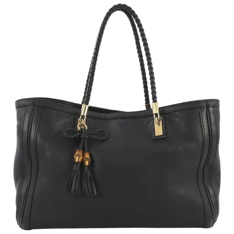 cd78e028ee5b Gucci Bella Tote Leather Medium For Sale at 1stdibs