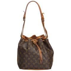 Louis Vuitton Brown Monogram Canvas Canvas Monogram Petit Noe France