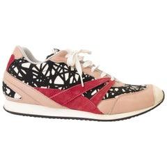 Balenciaga Abstract Printed Sneakers - size 39