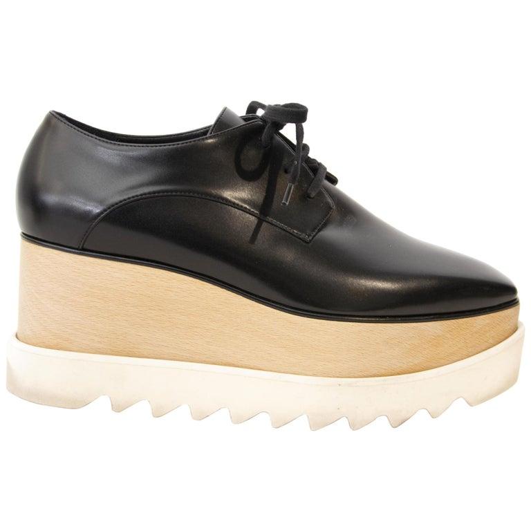Stella McCartney black Elyse shoe, offered by Labellov